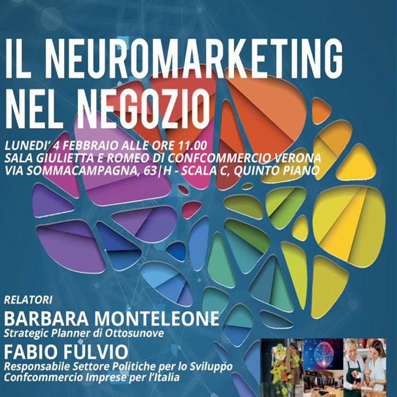 Neuromarketing e retail, focus a Verona